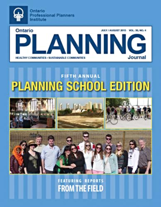 Ontario Planning Journal